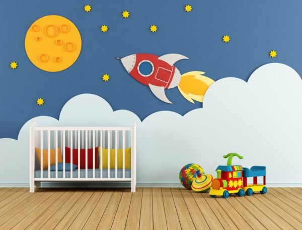 Ideas para decorar una pared infantil el color originales y creativas