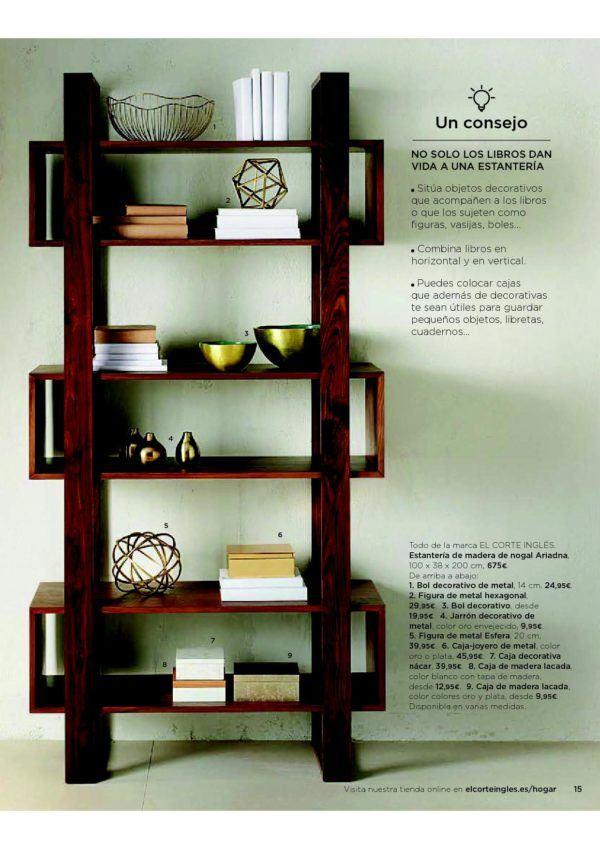 Catálogo de muebles El Corte Inglés 2018 - BlogHogar.com