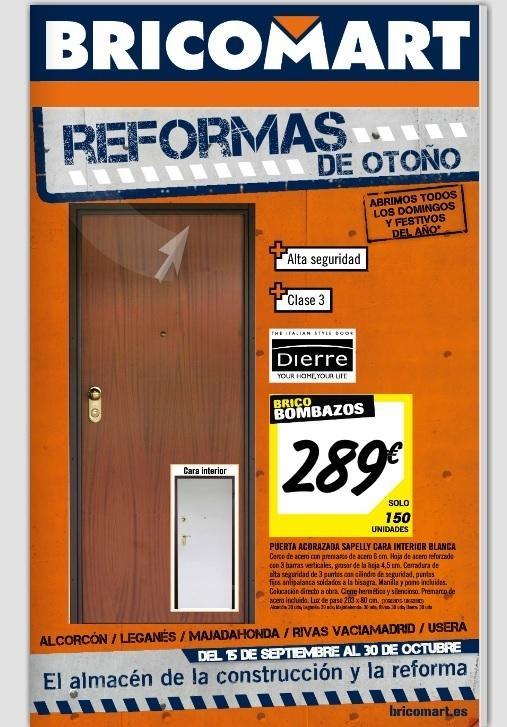 Bricomart puertas de interior precios top puerta interior - Puertas plegables bricomart ...