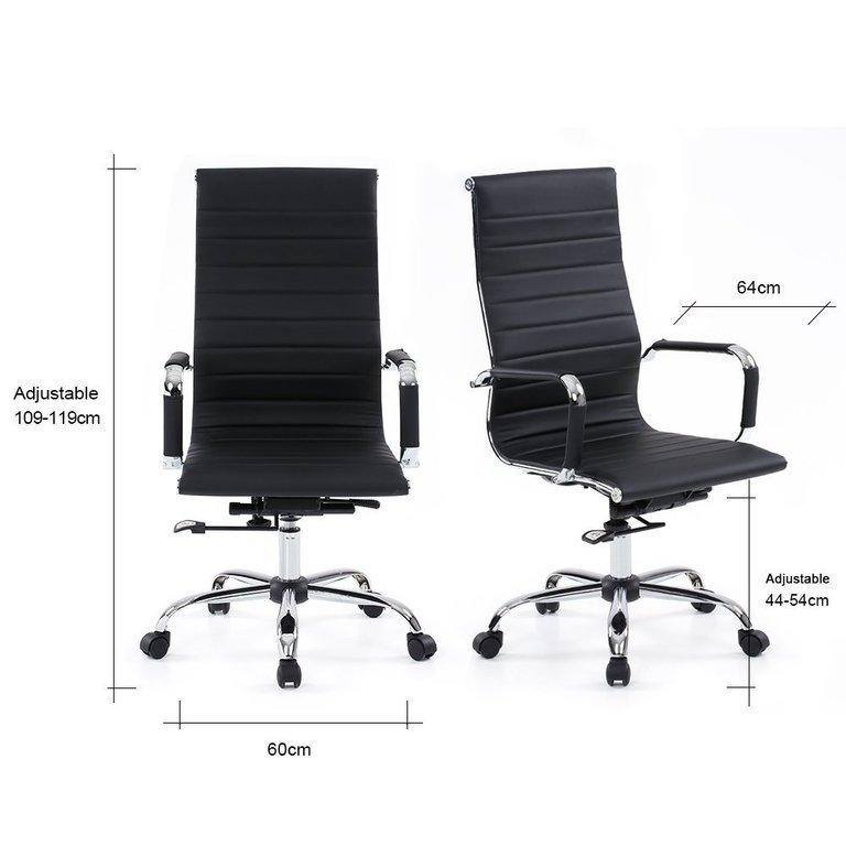Las mejores sillas de oficina de 2017 calidad precio for Sillas para oficina precios
