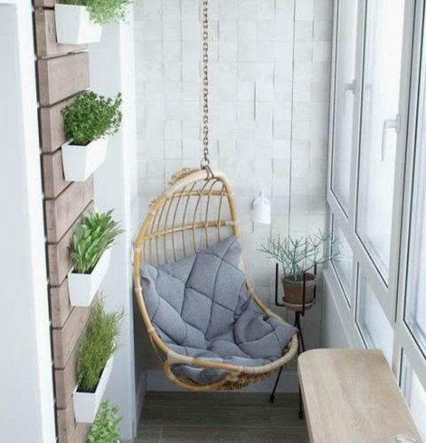 C mo decorar balcones peque os ideas y consejos for Decoracion de interiores para departamentos muy pequenos