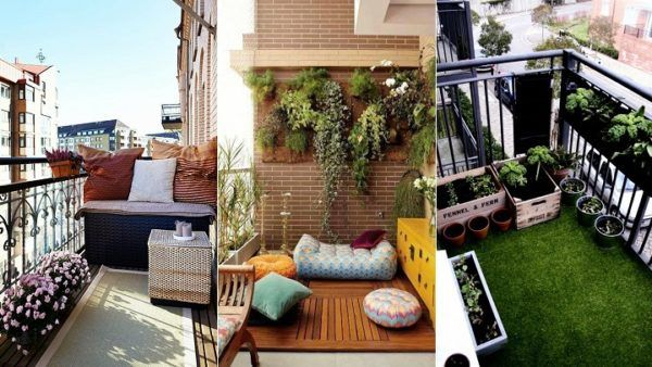 Cmo decorar balcones pequeos ideas y consejos BlogHogarcom