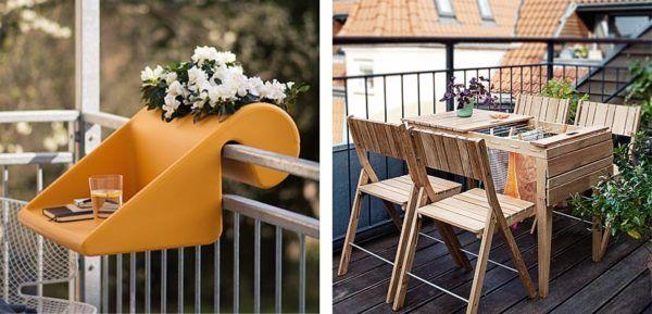C mo decorar balcones peque os ideas y consejos for Mobiliario balcon
