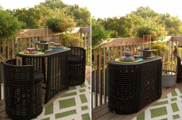 C mo decorar balcones peque os ideas y consejos for Mobiliario para balcones