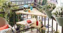 Cómo decorar balcones pequeños: ideas y consejos