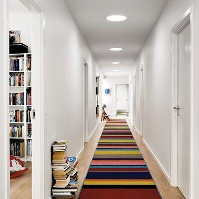 C mo decorar pasillos largos y estrechos ideas y consejos - Alfombras para pasillos modernas ...