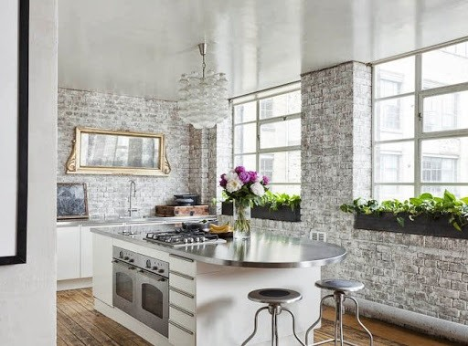 Mas De 20 Fotos De Cocinas Rusticas Decoradas Con Encanto - Cocinas-rusticas-modernas-fotos