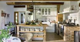 Más de 20 Fotos de Cocinas Rústicas decoradas con encanto