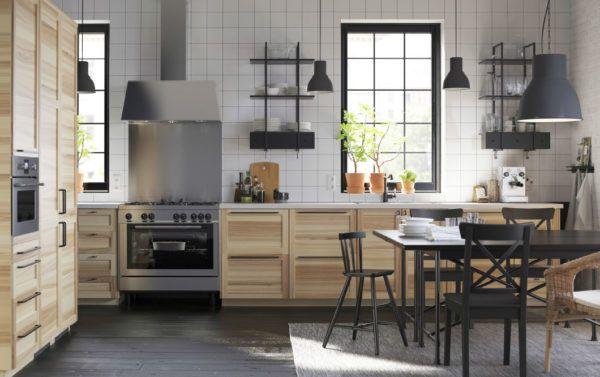 M s de 20 fotos de cocinas r sticas decoradas con encanto for Cocinas rusticas ikea