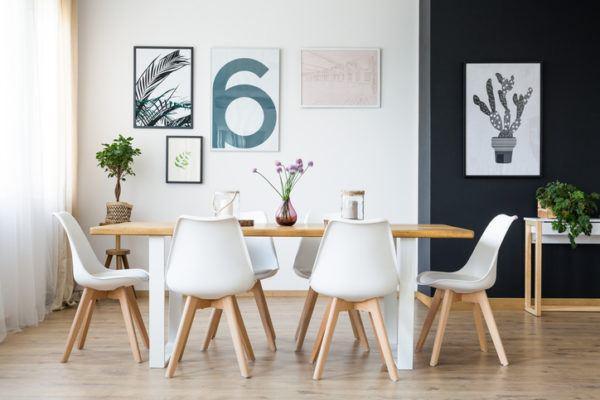 M s de 20 fotos de comedores modernos for Comedores modernos color blanco