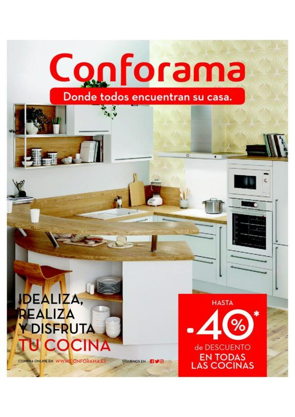 Diseños de cocina: Catálogo Conforama cocinas 2018 - BlogHogar.com