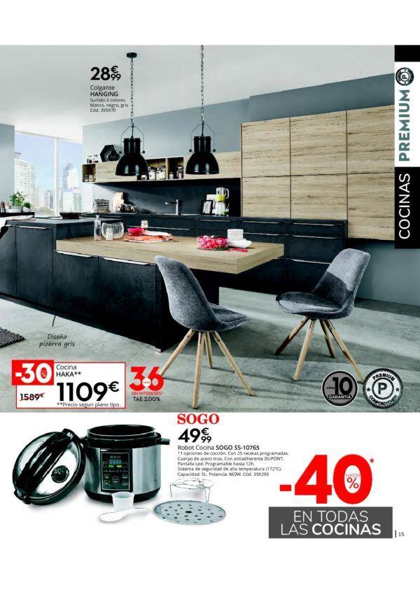 Diseños de cocina: Catálogo Conforama cocinas 2020 ...