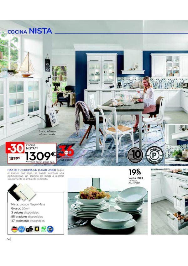 Diseños De Cocina Catálogo Conforama Cocinas 2020