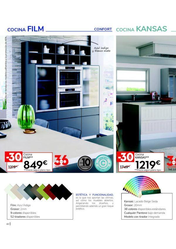 Diseños de cocina: Catálogo Conforama cocinas 2019 ...