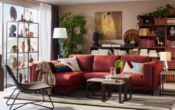 Los mejores colores que combinan con rojo para decorar una casa