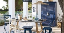 Los mejores colores que combinan con azul para decorar una casa