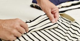 Cómo doblar la ropa para ocupar poco espacio