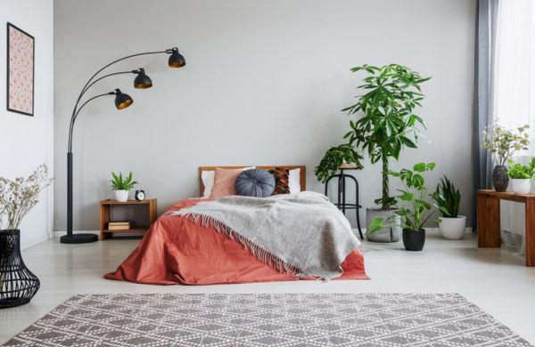 Decorar plantas dormitorio