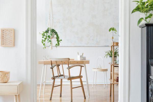 como-decorar-con-plantas-colgantes-istock