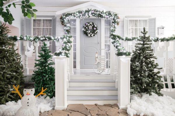 Decoración navideña 2019 al aire libre